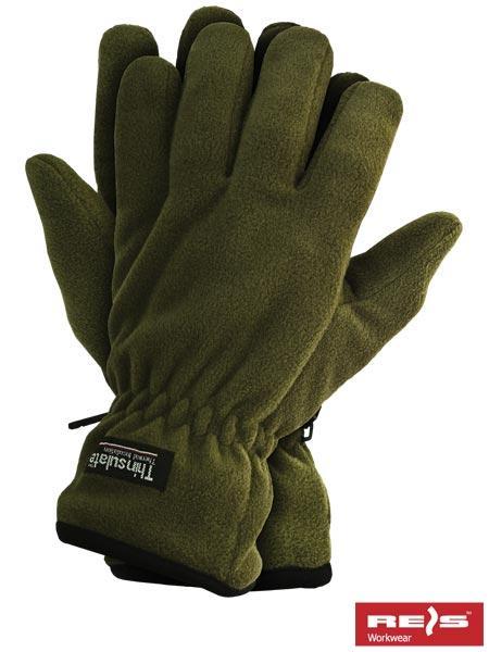 Защитные перчатки изготовленные из полара, утепленные вкладкой Thinsulate RTHINSULPOL O