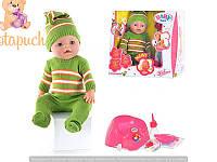 Детская кукла интерактивная пупс Baby Born BB 8001H
