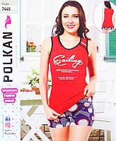 Красная домашняя одежда Polkan