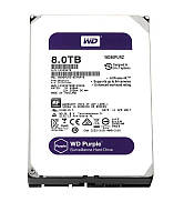 WD Накопитель HDD SATA 8.0TB Purple 5400rpm 128MB (WD80PURZ)