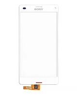 Оригинальный тачскрин / сенсор (сенсорное стекло) для Sony Xperia Z3 Compact D5803 D5833 M55w (белый цвет)