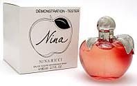 Тестер Nina Nina Ricci(красное яблоко)  для женщин ,80ml