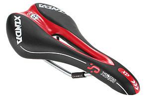 Седло Xinda Racing XD, черно-красное