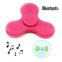 Спиннер Hand Spinner вертушка антистресс LED Bluetooth MP3