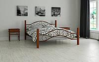 Кровать металлическая Фелисити полуторная 120 (Мадера / Madera) 1250х2020х920 мм