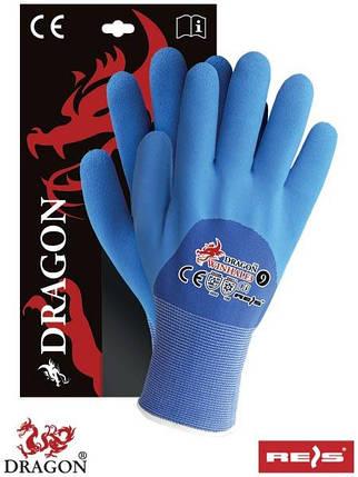 Перчатки защитные утепленные, проклеенные WINHALF3 GN, фото 2
