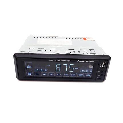 Автомагнитола ISO 1DIN сенсорные кнопки магнитола MP3 3377, фото 2