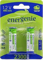 Аккумулятор AA 2300mAh EnerGenie 2 шт. в упаковке (EG-HR6-2BL)