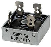 Диодный мост KBPC1510 (MB1510), 15А 1000V