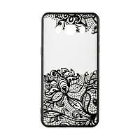 Накладка для Huawei Y3 II Rock Tatoo Art Case Fantasy Flowers
