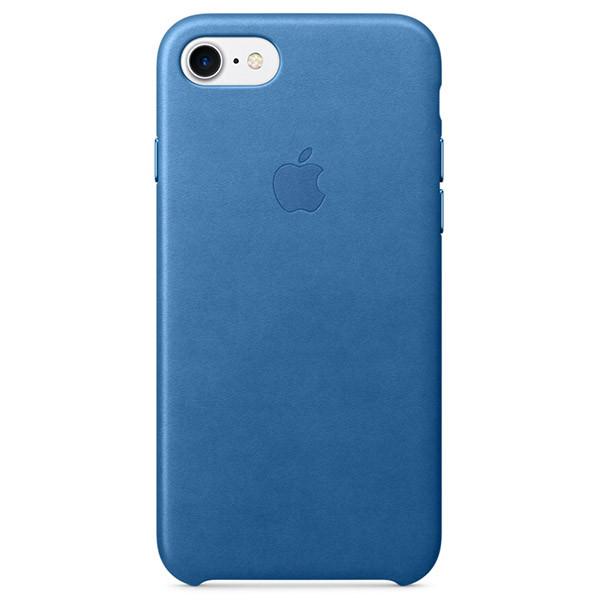 """Накладка для iPhone 7 кожа Оригинал (MMY42ZM / A) Sea Blue (MMY42ZM / A) - Магазин  """"Soho!"""" в Киеве"""