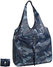 Тканевая женская сумка трансформер Gidra Blue Jeans