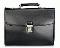 Портфель Katana k63041-1 кожаный Черный