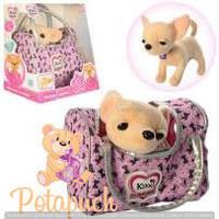 Детская гламурная собачка в сумочке Кикки  M 3482