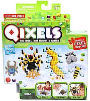 Игровой набор аквамозаики из пикселей - ЖУКИ (500 фишек, спрей, шаблоны, аксессуары)