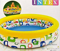 """Детский надувной басейн """"Абстракция"""" Intex"""