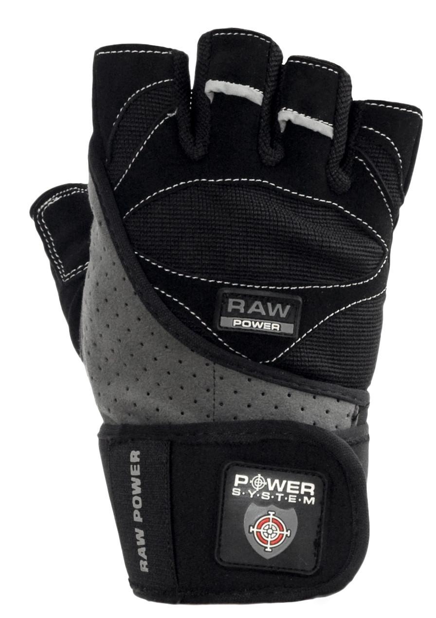 Перчатки Power System Raw Power PS-2850 L, Пакистан, Black