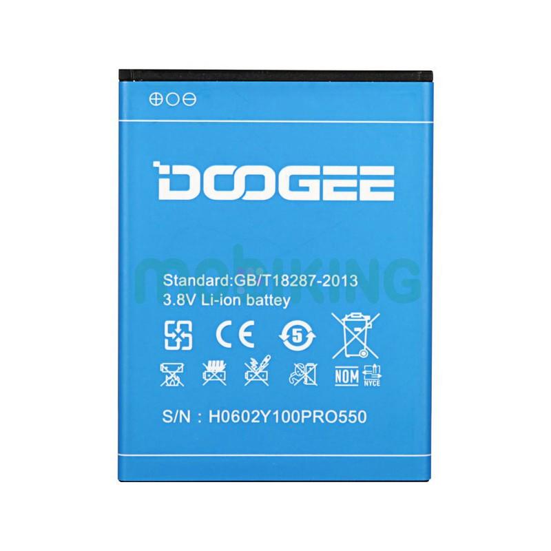 Оригинальная батарея Doogee Valencia 2 (Y100) для мобильного телефона, аккумулятор.