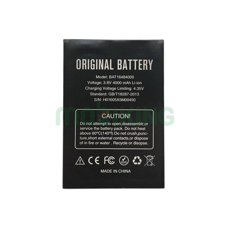 Оригинальная батарея Doogee X5 Max для мобильного телефона, аккумулятор.