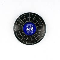 Спиннер металлический Спайдермен чёрный круглый