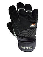 Перчатки для кроссфита Power System FP-02 X2 Pro Унисекс, 2XL, Пакистан, Black