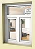 Пластиковое окно в сталинку  Rehau 70 с мотажом и доставкой