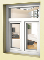 Пластиковое окно в сталинку  Рехау Rehau 70 с мотажом и доставкой от Дизайн Пласт®