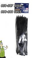 Ремешки хомуты стяжные, черные 3,6 X 250 мм, 100 шт в удобной упаковке
