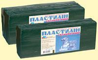 Пластилін Гама н-в Скульптурний 400гр. оливковий,в упак.174*7*3 см.,(331005)