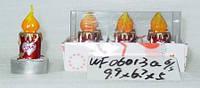 Свеча  в кор. 10*5*7см (108шт/ящ)(WF06013A)
