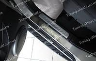 Накладки на пороги SsangYong Rexton 2 (накладки порогов Санг Енг Рекстон 2)
