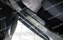 Накладки на пороги SsangYong Rexton 2 (накладки порогів Санг Йонг Рекстон 2)