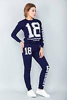 Спортивный костюм 18 (темно-синий) [Размер:: s (44)]
