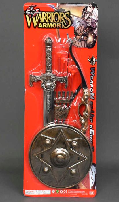 Игрушечный набор рыцаря.