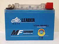 Мото аккумулятор LEDER 4Ah Gel