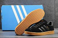 Кроссовки Adidas Gazelle черные 2490