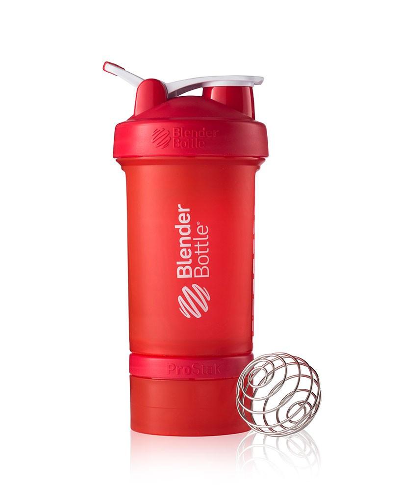 Шейкер спортивный BlenderBottle ProStak 650ml (ORIGINAL) Red
