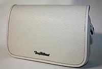 Женская сумочка клатч Tony Bellucci слоновая кость натуральная кожа