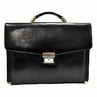 Портфель Canpellini 2026-8 кожаный Черный