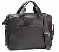 Портфель Blamont Bn068A кожаный Черный