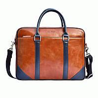 Портфель Issa Hara B14 (04-03) кожаный Коричневый