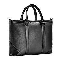 Портфель Issa Hara B1(11-01) кожаный Черный