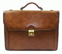 Портфель Katana K63024-3 кожаный Коричневый