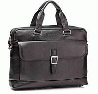 Портфель Blamont Bn060A кожаный Черный