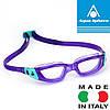 Очки для плавания женские KAMELEON LADY VIOL/AQUA L/CL (фиолетово-бирюзовый; линзы прозрачные)