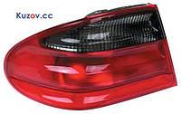 Фонарь задний для Mercedes Е-Class W210 '95-99 правый (DEPO) внешний, красно-дымчатый