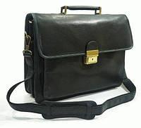 Портфель Katana K34205-1 кожаный Черный