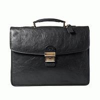Портфель Katana k31022-1 кожаный Черный