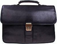 Портфель Katana k36804-1 кожаный Черный