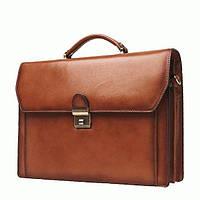 Портфель Katana k63025 кожаный Коричневый